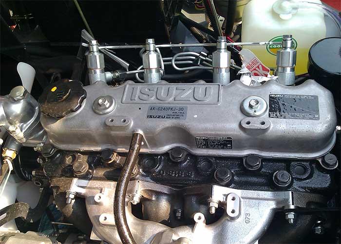 The image of the Engine ISUZE and Mitsubishi
