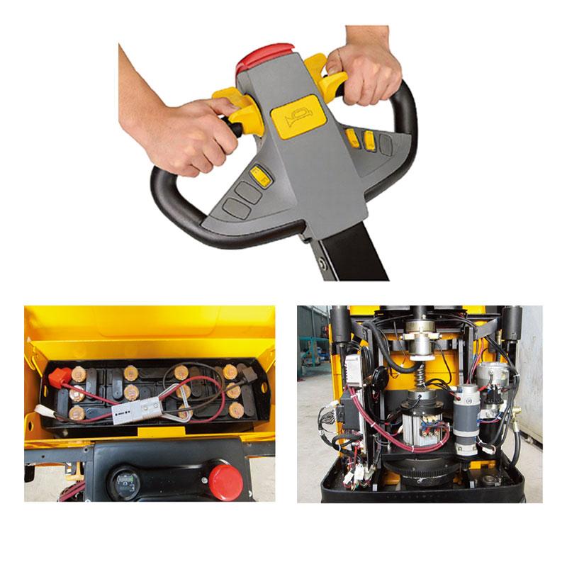 Heavy Duty Electric Pallet Truck ELEP-20c/25c/30c
